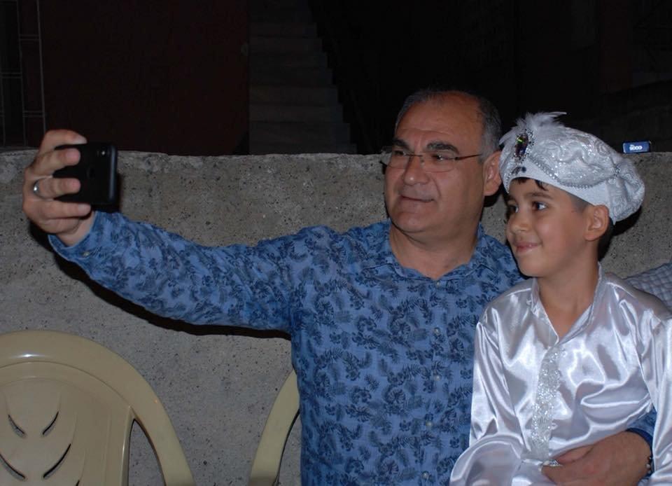 BAŞKAN ÇAY, AHMET ARDA'NIN SÜNNET MERASİMİNE KATILDI
