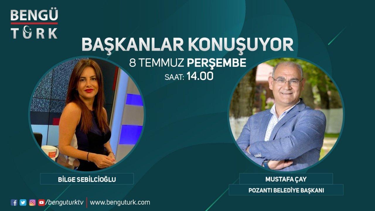BAŞKAN MUSTAFA ÇAY BENGÜTÜRK TV'DE